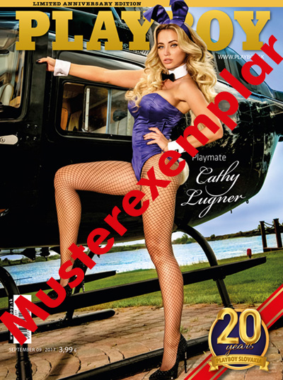 Cathy am Playboy Cover
